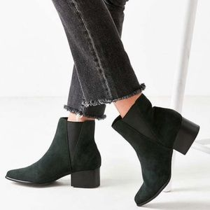Urban Outfitters Green Chelsea Boot